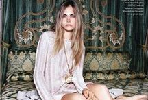 Cara delevigne / As Cara Delevigne is my favourite ever model! I am going to pin all her shoots and fashion trends..