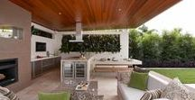 Backyard Inspiration / backyard   outdoor   backyard design   yard