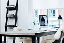 Homeoffice Makeover / Anregungen für die Umgestaltung des Arbeitszimmers.