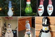 recycle light bulb - villanykörte