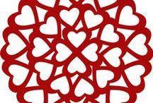 szívek Valentin napra,