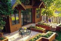 Pro Decks    Built in Planter Boxes