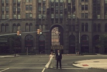 Urban Weddings / The traffic lights, the energy, the tall buildings, the cool locations! That's what urban weddings are all about.