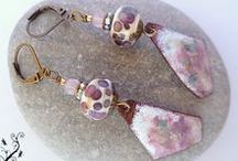 Boucles d'oreilles Miss Libellule / Belles paires de boucles d'oreilles des collections Miss Libellule  sur le site de misslibellule.com