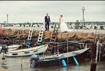 Hitched Studios Wedding Photography / Wedding rock.  People in love inspire us. www.hitchedstudiosblog.com