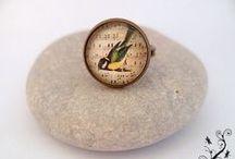 Bagues Miss Libellule / Gamme de jolies bagues cabochon, création de misslibellule.com