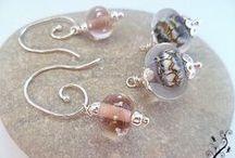 Boucles d'oreilles en argent Miss Libellule / Une collection de boucles d'oreilles en argent 925