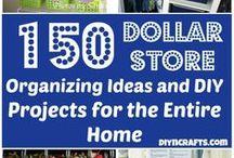 Crafty Dollar Store Ideas / by Carolyn Volk