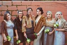 Mix-Matched Furs  / For bridal party