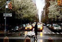 """sunday in new york / """"Two hearts stop beating~ You're both too breathless to speak~ Love smiles her greeting~ Then the dream that has seen you thru the week~ Comes true on Sunday In New York"""""""