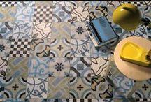 Patchwork tegels / Met de patchwork tegels zijn er eindeloos veel mogelijkheden. De tegels hebben verschillende figuren en patronen, waarmee alles mogelijk is.