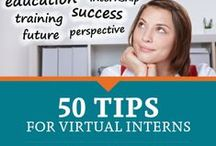 50 Tips for Virtual Interns / Graduate students at the San Jose State University School of Information can gain real-world experience in an information center while expanding their professional network by completing a virtual internship as part of their coursework. Here are 50 tips for success, as shared by and for student virtual interns.