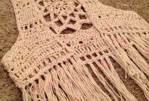 chalecos crochet