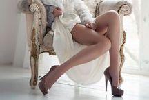 Legs & High Heels!! / shapely legs... sexy in heels... / by Louis Lomaxx