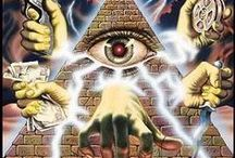 Conspiracies, Secret Societies & The New World Order / The Truth will set you free... Question everything... Think outside the box! As a conspiracy theory, the term New World Order or NWO refers to the emergence of a totalitarian world government. / by Louis Lomaxx