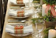 TABLE SCAPES / Show off your creative spirit in every large and small surface in your home.
