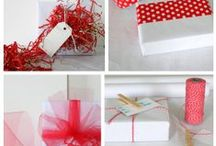 GIFT WRAP IDEAS / by Vicki Payne