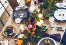CHRISTMAS TABLE / Christmas Table / by Vicki Payne