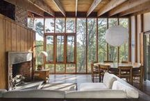 Contemporary Cabin | / Cabin in the woods for the young and modern