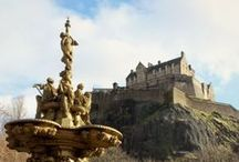 Exploring Scotland / Edinburgh + The Borders