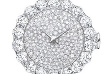 Beautiful time pieces!!! / I have a weakness for very expensive jewelry and am glad I can't afford it as there can be no temptation to purchase. / by Kathryn Howard