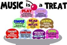 The music teacher! / Ideas for the music classroom. / by Rebecca Jo