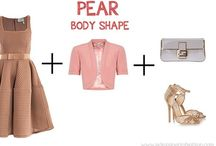 A Pear-Shaped Me / How to dress when you have a pear-shaped body