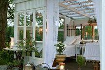 Huvitusmajoja Garden rooms