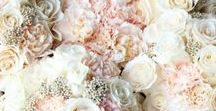 Pink designs / Bridal hand ties too table arrangements. Creating that elegant, romantic, full impact design in soft pinks. Tips on how to keep within your buget .