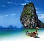 """Thailand erleben / Auch als """"Das Land des Lächelns"""" bekannt, überzeugt Thailand durch Herzlichkeit und Gastfreundschaft, historischen Tempelanlagen und wunderschönen Sandstränden die zum tauchen einladen."""