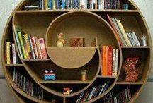 bookshelves / I like it.