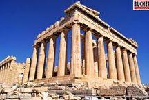 Griechenland / Griechenland bietet wunderschöne Landschaften, historische und mythische Orte, köstliche Speisen und Weine sowie paradiesische Strände und kristallklares Wasser. Hol dir hier spannende Infos über Griechenland!