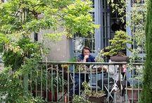 Outdoor Space / Balcony - Terrace - Patio - Backyard - Rooftop  / by Poppy Soetanto