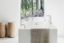 Bathe / Run a bath, add some rich bubbles and dream away your troubles .. just for 30 minutes or so. A clean space that should be clutter free and inviting.