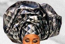 Head wrap, scarves.