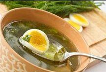 Супы. Soups.