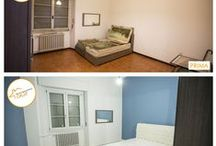 Ristrutturazione e colore / Ristrutturando si dà nuova vita ad un appartamento e pitturare una parete è un piccolo trucco per trasformare maggiormente la vostra casa. Scelto il colore sarà necessario decidere quale parete colorare: ricordatevi che colorare una stanza intera, per quanto sia un'idea suggestiva, rischia di appesantire la stanza. Basta una sola parete per dare colore alla stanza: potete anche scegliere di fare due pareti (attigue o opposte) dello stesso colore