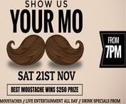 Movember DIY Graphic Design Templates / A selection of Movember promotional templates that you can edit in your web browser. Use in digital and social media campaigns or order printed posters and banners. (Hospitality Subscription Add-On) Start now - it's free! easil.com