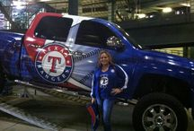 Texas Rangers ~ Baseball / My Texas. My Rangers. ❤️⚾️ / by Lisa FunSized Mendoza