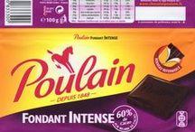 Poulain / Tablette de Chocolat Poulain