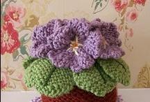 Flowers / Beautiful crochet flowers