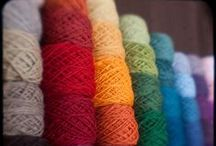 Wool and Yarn / Lovely colourful wool and yarn