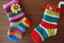 Christmas Crochet / Inspirational Christmas makes