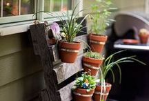 Upcycle, Recycle, Reuse, Repurpose; for the home and garden.