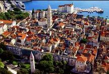 Wedding in Split Croatia / Split is a beautiful city in Croatia situated right in the Mediterranean Basin on the eastern shores of the Adriatic Sea, centered around the ancient Roman Palace of the Emperor Diocletian.