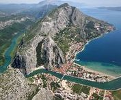"""Wedding in Omiš Croatia / Discover the charms of the town of Omiš, which is unique by its location on the river, the sea and surrounded by mountains, its streets and the beauty of the old town centre, the magnificent canyon of the Cetina river, old city fortress Mirabella and the Old City as well as the rich cultural and historical heritage of the traditional pirate town and become a part of this world known capital of """"klapa"""" songs."""