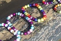 Life's a beach! / Our glowing beads make for funky, on trend beach fashion.