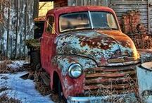 ♥ Rusty old car ♥