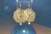 Crochet  con filo metallico