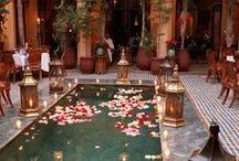 Morocco inspired wedding moodboard / Morocco as a fabulous inspiration for Mediterranean weddings in beautiful Croatia